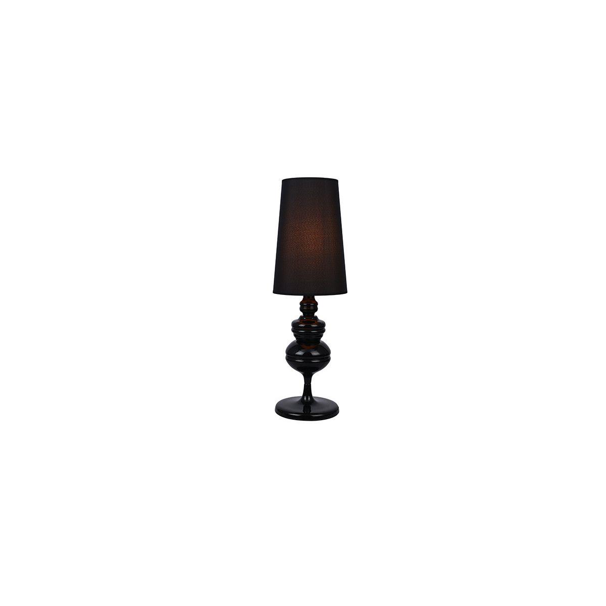 Lampa Stolowa Baroco E27 Czarny
