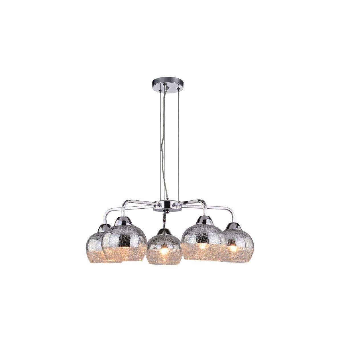 Lampa wisząca CROMINA AMPLA 5xE27 -chrom