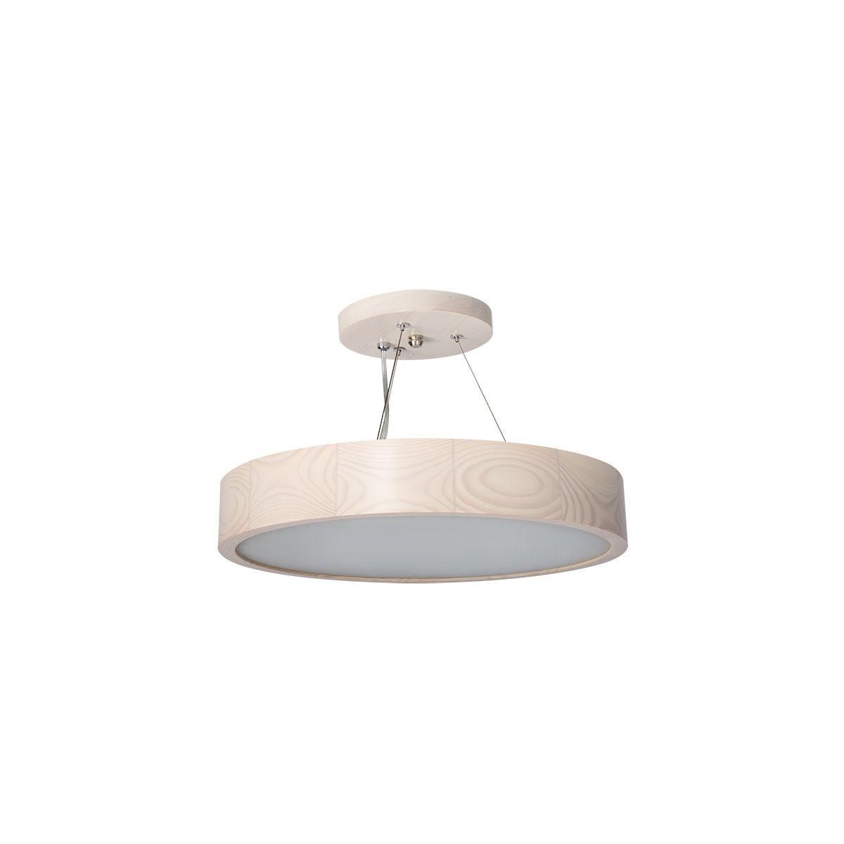 Lampa wisząca JASMIN 470-W-H 3x60W - biały dąb (23752)
