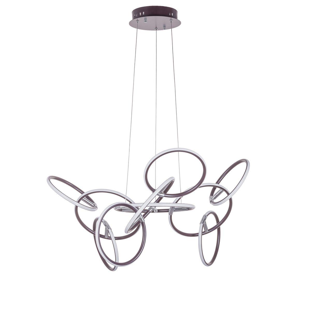 Lampa wisząca PENDORA LED 111,6W 3000K -brązowa