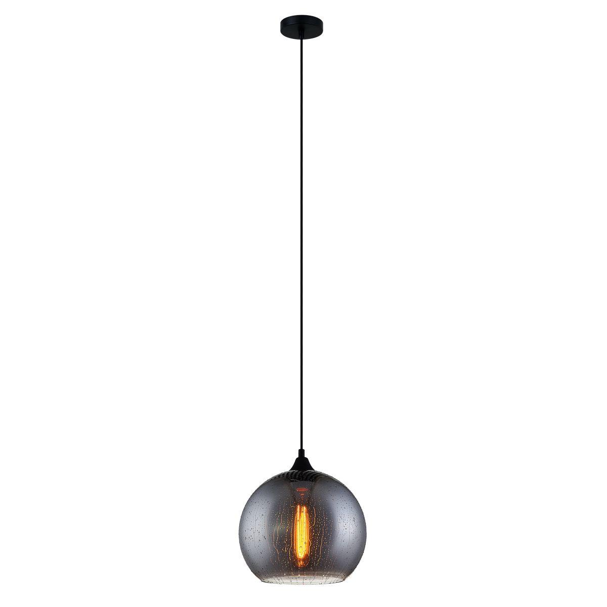 Lampa wisząca TABBY E27 - czarny