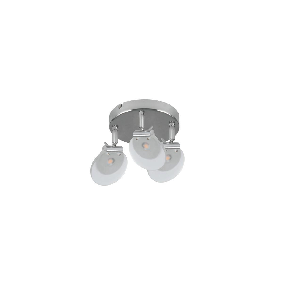 Oprawa ścienno-sufitowa SILMA LED 3x6W barwa ciepła