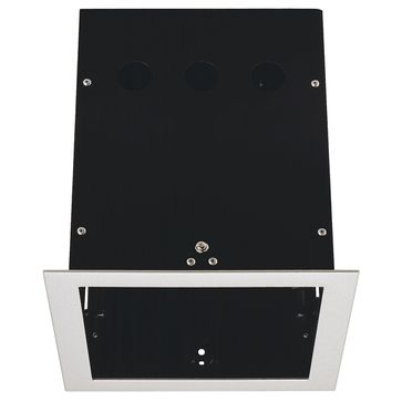 AIXLIGHT PRO 1 FRAME puszka montażowa, srebrno-szary/czarna