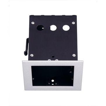 AIXLIGHT PRO 50 1 FRAMEpuszka montażowa, srebrno-szary/czarna