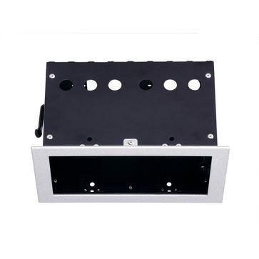 AIXLIGHT PRO 50 2 FRAMEinstallation frame, srebrno-szary/czarna