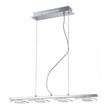 Lampa wisząca Bill LED 4x4,5W barwa ciepła - chrom
