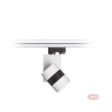 BOUGIE do 3-faz. szyny biała/czarna 230V LED 20W