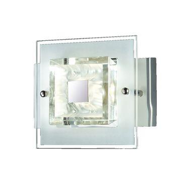 Kinkiet Bruna LED 4W barwa ciepła - chrom