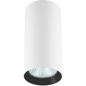 Downlight MANACOR 13 GU10 - czarny ring