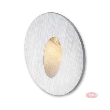 ELICA LED okrągła  aluminium szczotkowane LED 3W