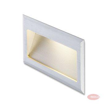 INTRO L  aluminium szczotkowane LED 3W