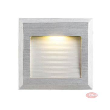 INTRO M aluminium szczotkowane LED 1W
