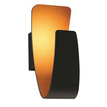 Kinkiet GONDOLA LED 5W czarny / złoty