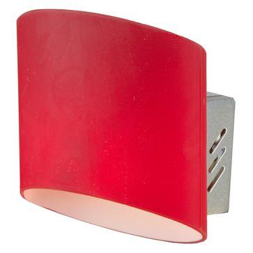 Kinkiet Saragossa G9 - czerwony