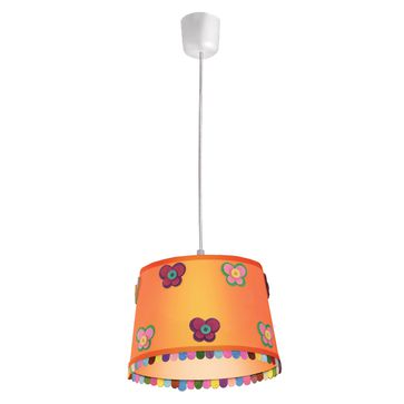 Lampa Butterfly E27 - pomarańczowa
