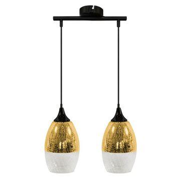 Lampy CELIA zwis - złote