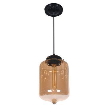 Lampa Bronte 1 E27 - czarna