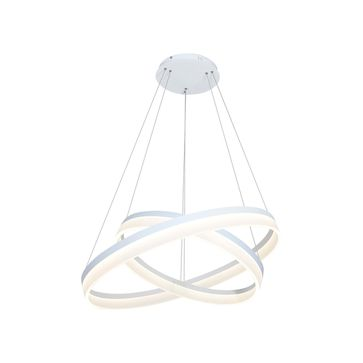 Lampa RING 065 LED 2x12W z pilotem