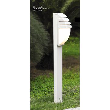 Lampa stojąca DECORA E27 -biała