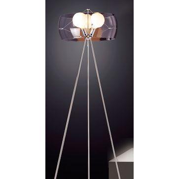 Lampa stojąca KOMA 3xE27 - chrom