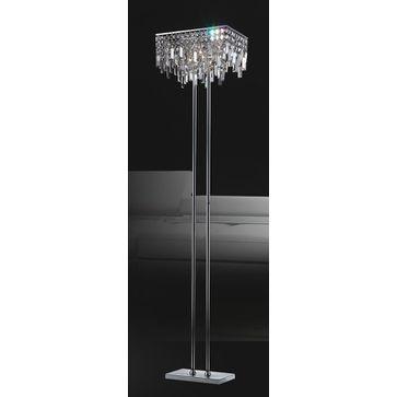Lampa stojąca LAVENDA 8xG4 - chrom