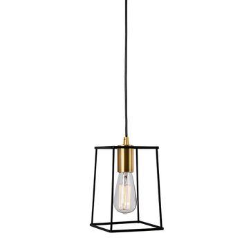 Lampay wiszące ALANIS E27 - czarny