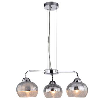 Lampa wisząca CROMINA 3xE27 - chrom