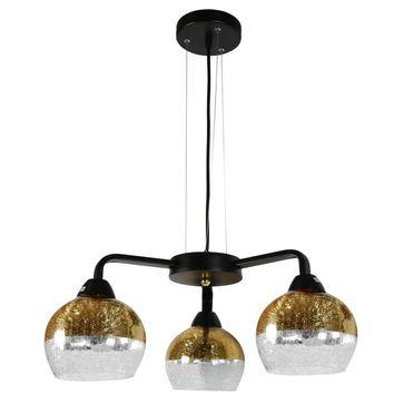 Lampa wisząca CROMINA 3xE27 - złota