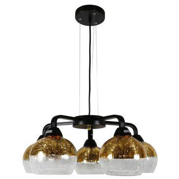 Lampa wisząca CROMINA 5xE27 - złota