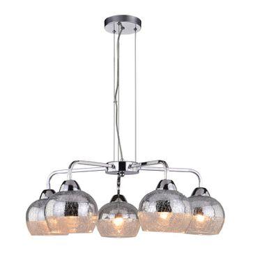 Lampa wisząca CROMINA 5xE27 - chrom