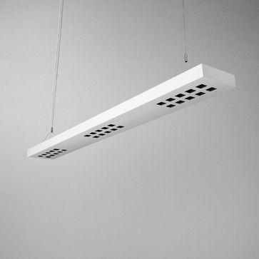Lampa wisząca DARK POINTS 85 LED L930 19W 3000K - czerwony mat
