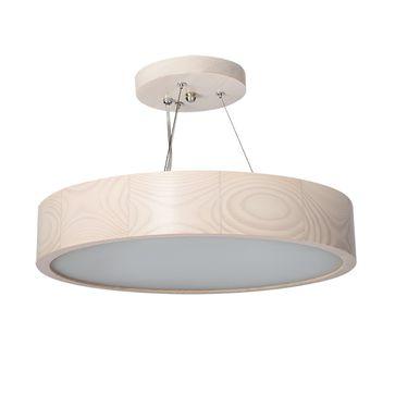 Lampa wisząca JASMIN 370-W-H 2x60W - biały dąb