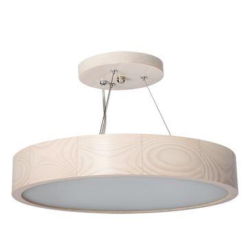 Lampa wisząca JASMIN 470-W-H 3x60W - biały dąb