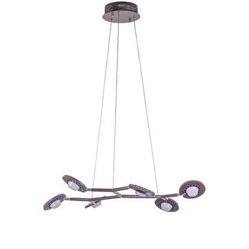 Lampy wiszące KRESYDA DARK COFFE LED 3000K - brązowy
