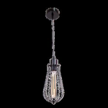 Lampa wisząca LOFT PINETO E27 - czarny