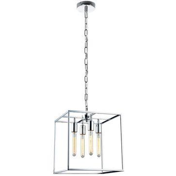 Lampy wiszące LOFT TELAIO E27 - chrom