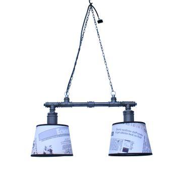 Lampa wisząca MB-HA 2x35W styl Loft Edison