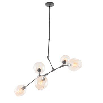 Lampy wiszące NANTES E27 - czarne