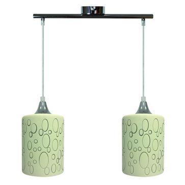 Lampa wisząca SAND 2xE27 - chrom