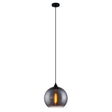 Lampa wisząca TABBY MDM3148/1 SG+DROP E27 - czarny
