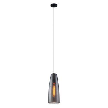 Lampa wisząca TABBY MDM3147/1 SG+DROP E27 - czarny