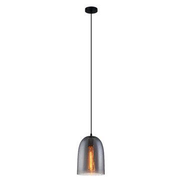 Lampa wisząca TABBY MDM3149/1 SG+DROP E27 - czarny