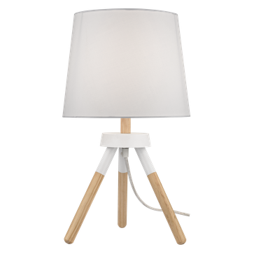 Lampka Pereto E27 - biała