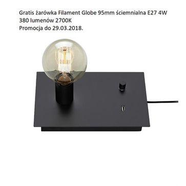 Lampki stołowe/kinkiety LOAD 1L USB E27