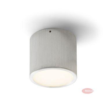 MERA LED sufitowa aluminium szczotkowane LED 6W