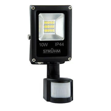 Naświetlacz OLIMP LED S 10W BLACK 4500K