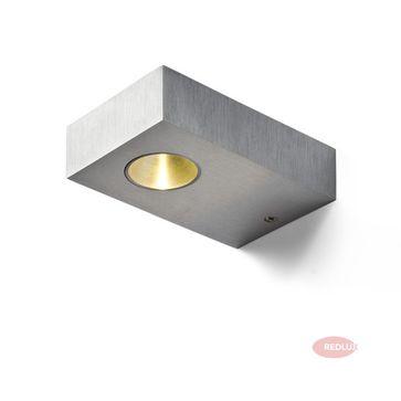 NOZ LED ścienna  aluminium szczotkowane LED 3W