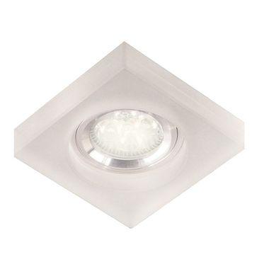 Oprawka ADEL LED D 1,2W 6500K GU10 - przezroczysty/chrom