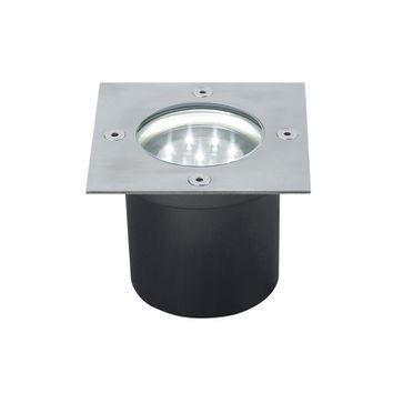 Zestaw Floor LED 3x1,2W kwadrat stal.