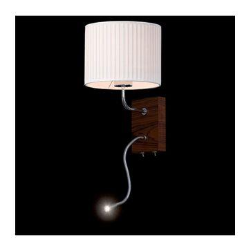 Kinkiet LED E27+ Power LED